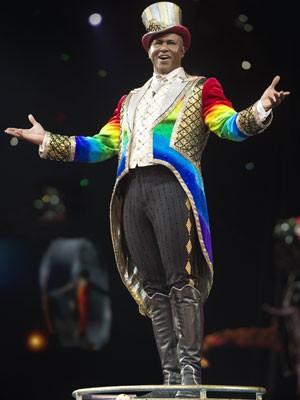 O apresentador Johnathan Lee agradeceu o carinho do público (Foto: Divulgação/Feld Entertainment)