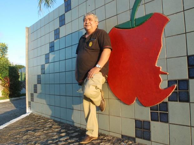Bessanger Abrantes voltou ao Roda Viva a convite do G1 para contar a história que inspirou o primeiro single do Raimunfos (Foto: André Resende/G1)