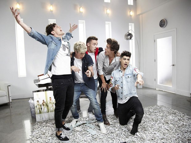 Cena do clipe de 'Best song ever', do One Direction (Foto: Divulgação)