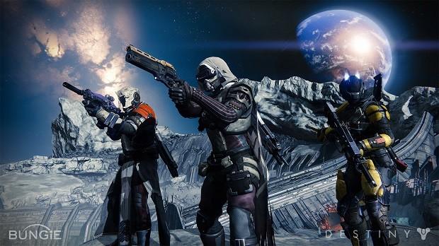 'Destiny' é game de fantasia e ficção científica da Bungie, criadora de 'Halo' (Foto: Divulgação/Bungie)