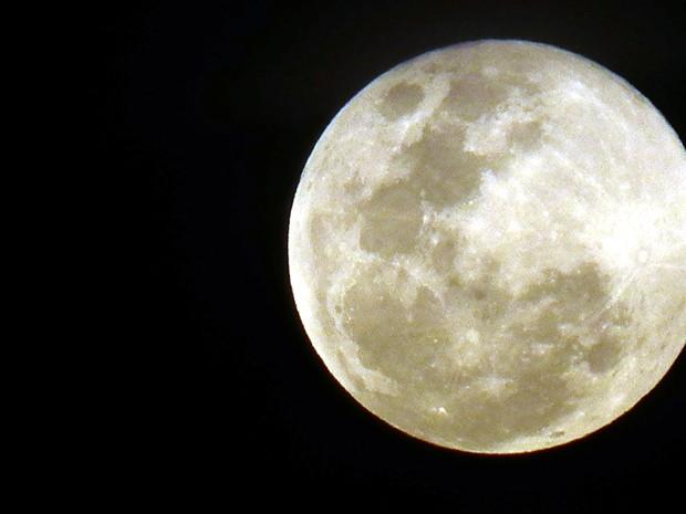 Foto da Lua (Foto: Thiago Souza)