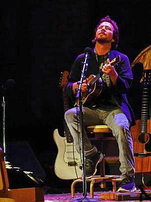 Eddie Vedder (Foto: Flavio Moraes / G1)