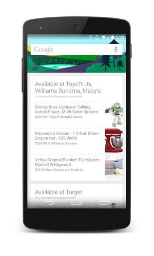 Google avisa por celular quando produto visto on-line for oferecido por loja próxima ao usuário. (Foto: Divulgação/Google)