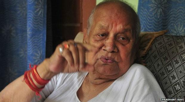 Aos 93, Ram Sundar Das rejeita rumores sobre saúde e diz que quer servir até o último suspiro (Foto: Prashant Ravi)