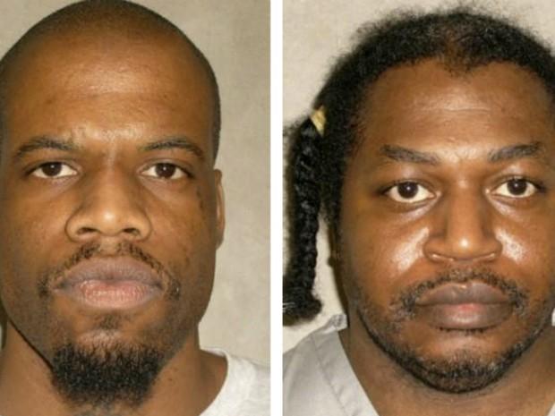 Clayton Lockett (esquerda) e Charles Warner, os dois condenados á morte em Oklahoma. (Foto: REUTERS/Oklahoma Department of Corrections/Handout)