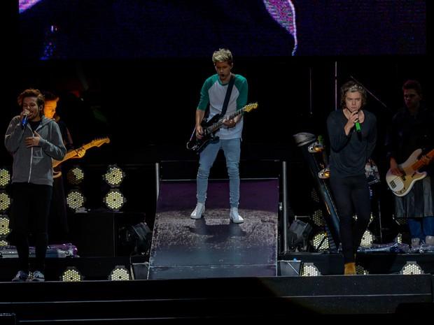 Show do One Direction neste sábado (10), no estádio do Morumbi, em São Paulo (Foto: Flavio Moraes/G1)