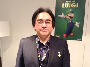 Satoru Iwata, presidente mundial da Nintendo, em entrevista ao G1 nesta quinta-feira (13) durante a E3 2013. (Foto: Gustavo Petró/G1)