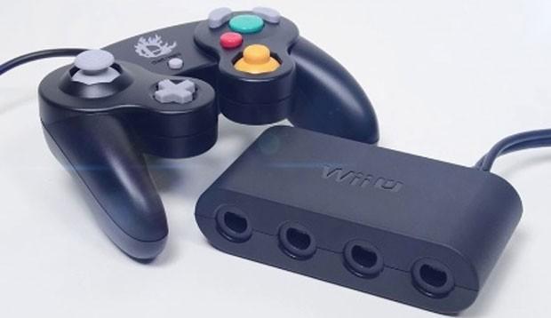 Adaptador para o Wii U permite usar controle do antigo GameCube (Foto: Divulgação/Nintendo)
