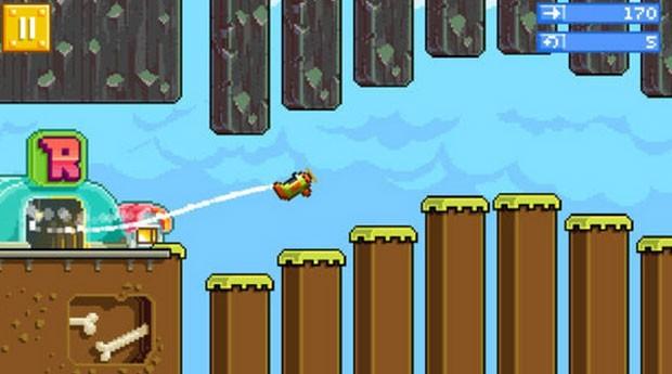 'Retry' é game da Rovio inspirado em 'Flappy Bird' (Foto: Divulgação/Rovio)