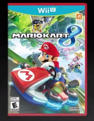 Capa do game 'Mario Kart 8', que chega no dia 30 de maio (Foto: Divulgação/Nintendo)