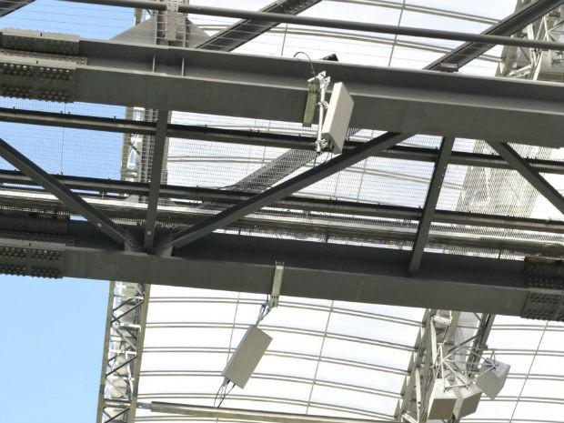 Sinal de telefone deve funcionar apenas nas arquibancadas e Sala de Imprensa da Arena da Baixada (Foto: Divulgação / Mauricio Mano / Site Oficial do CAP)