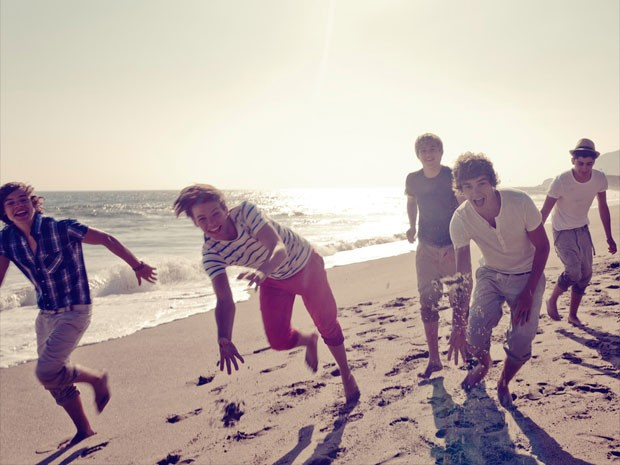 Cena do clipe de 'What makes you beautiful', do One Direction (Foto: Divulgação)